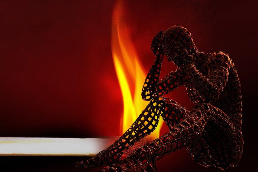 syndrom vyhoření přichází zadním vchodem bez klepání